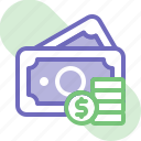 banking, business, cash money, cash payment, coin, finance, money icon