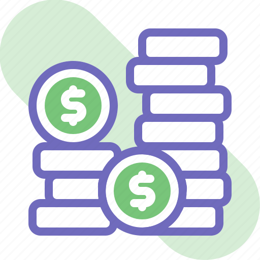 banking, business, coin, dollar, earning, finance, money icon