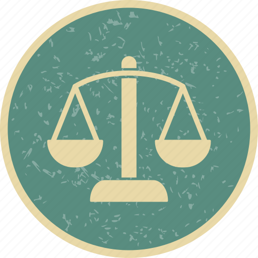 balance, justice, scales icon