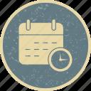 business, calendar, deadline, startup icon