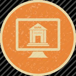 banking, internet banking, online banking icon
