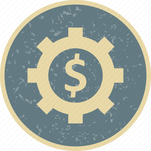 business, cog, options, wheel icon