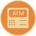 atm, atm machine, bank icon