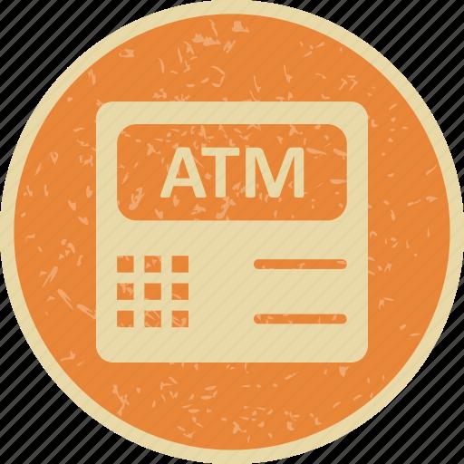 atm, atm machine, cashout icon