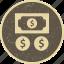 cash, finance, investment icon