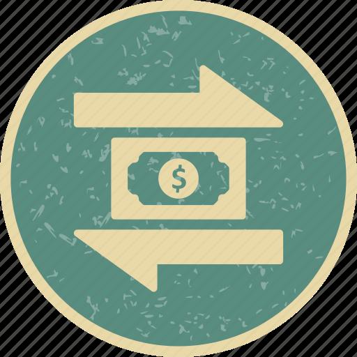 banking, finance, money, transaction, transfer icon