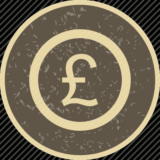 banking, coin, finance, money, pound icon