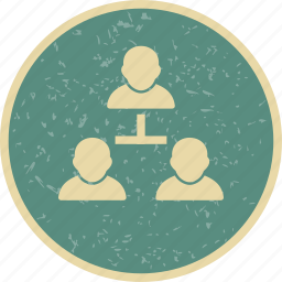 business, metting, network icon