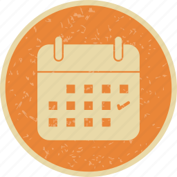 business, calendar, schedule icon