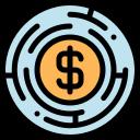 labyrinth, maze, strategy icon icon