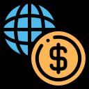 economy, graph, statistics icon icon