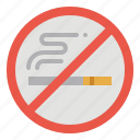cigarette, smoke, area, smoking, no icon