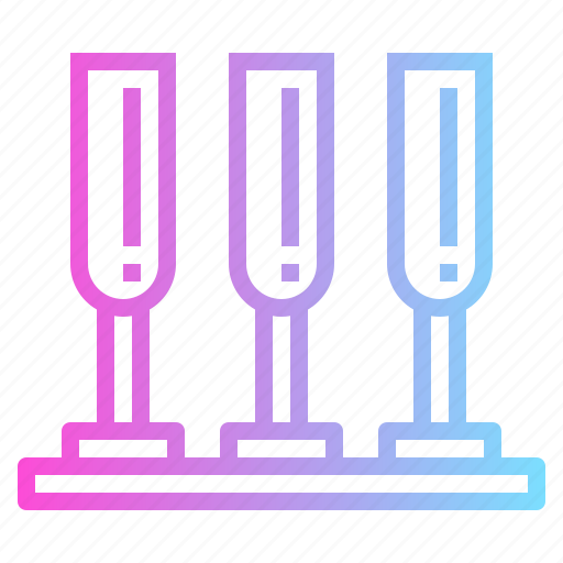 Bar, drinks, glasses, pub icon - Download on Iconfinder