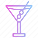 alcohol, bar, cocktail, martini icon