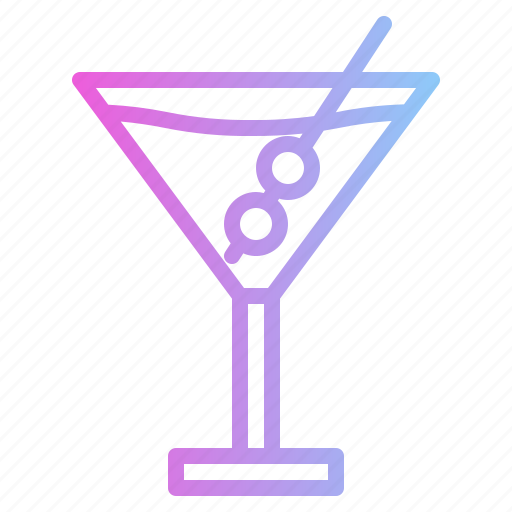 alcohol, bar, cocktail, martini icon