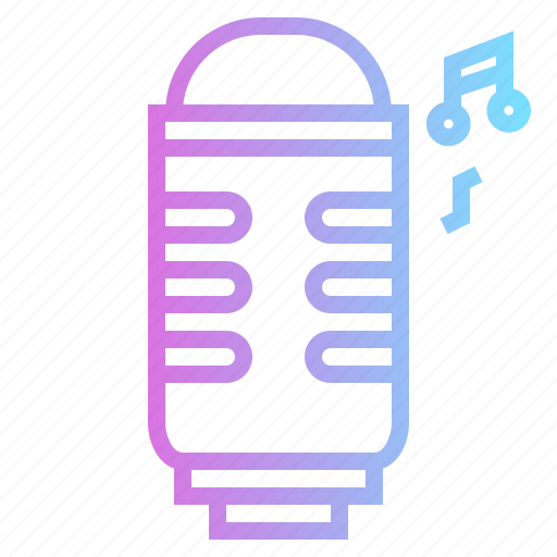 Microphone, music, singer, technology icon - Download on Iconfinder