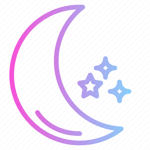 Astronomy, moon, night, stars icon - Download on Iconfinder