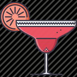 alcohol, bar, club, glass, margarita, party icon