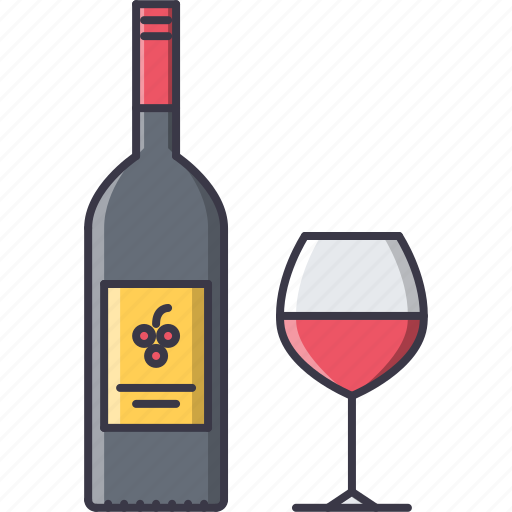 alcohol, bar, club, party, wine, wineglass icon