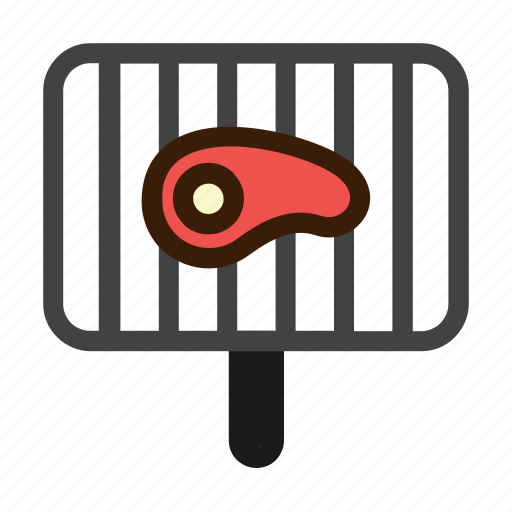 barbecue, grill, grills, meat, steak icon
