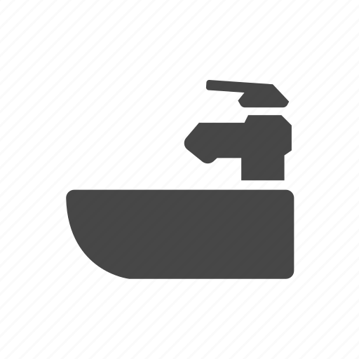 barber, coiffeur, haircutter, hairdresser, sink icon