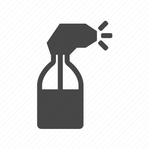 barber, bottle, spray, water icon