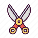 barber, hair, haircutter, salon, scissor, shaving icon