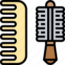 comb, hair, brush, beauty, grooming