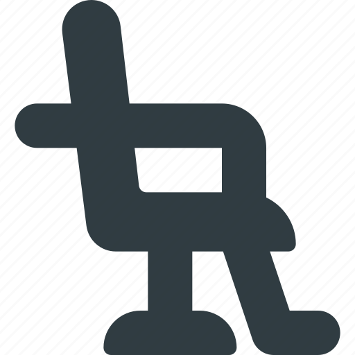 barber, care, male, seat, shop, tool icon