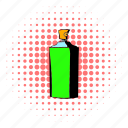 cologne, comics, cosmetic, glass, liquid, perfume, scent icon