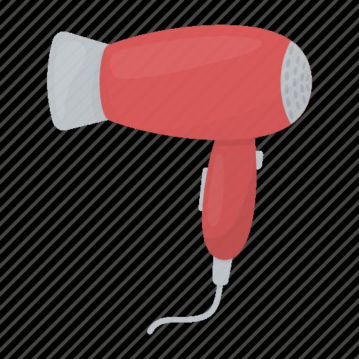 dryer, drying, equipment, hair, hairdresser, tool icon