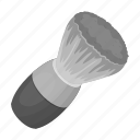 barber, scissors, shaving, shaving brush, tool icon