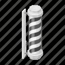 design, emblem, hairdresser, signboard, style icon