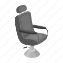 armchair, equipment, furniture, hairdresser, interior, salon