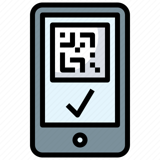 Cellphone, iphone, mobile, phone, qrcode, smartphone icon - Download on Iconfinder