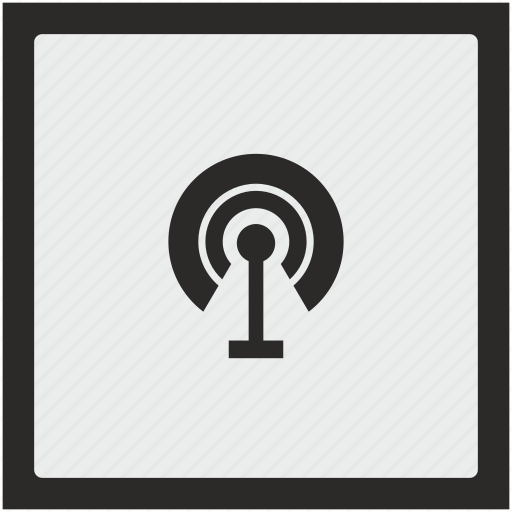 antenna, function, printer, signal, square, wifi icon