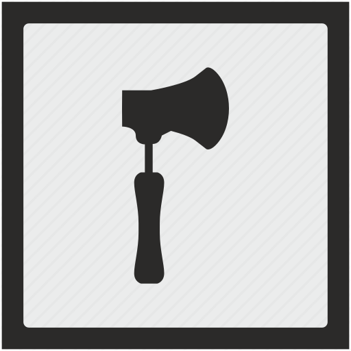 ax, axe, cleaver, function, hatchet, square icon