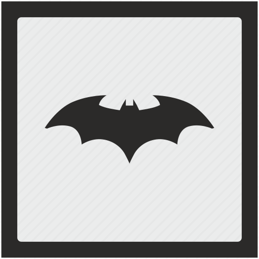 bat, batman, comics, function, hero, square icon
