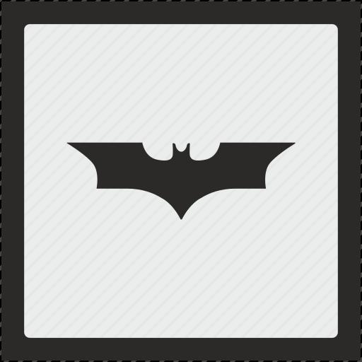 bat, batman, comics, function, square icon