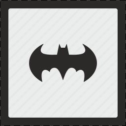 bat, batman, function, square icon