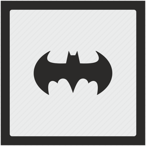 Bat, batman, function, square icon - Download on Iconfinder