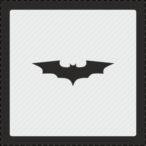 bat, batman, comics, function, hero, square icon