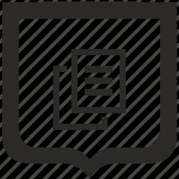 copy, file, printer, shield, xerox icon