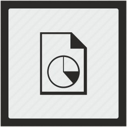 diagram, doc, document, file, function, square icon