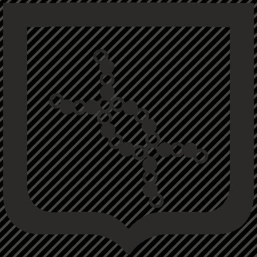 biology, chain, dna, shield icon