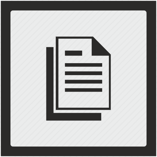 copy, doc, document, file, function, square icon
