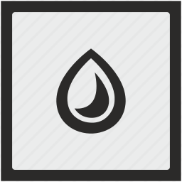 color, drop, function, ink, printing, square icon