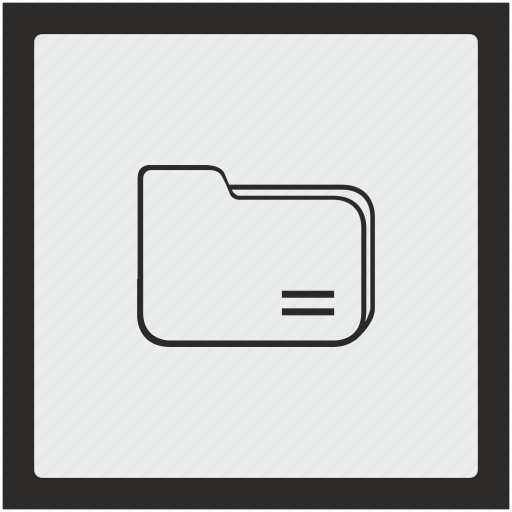 documents, file, folder, function, square icon