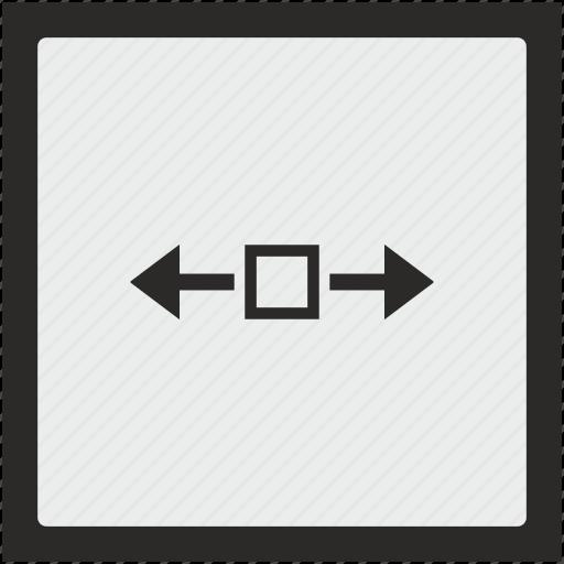 function, horizontal, scroll, square, window icon