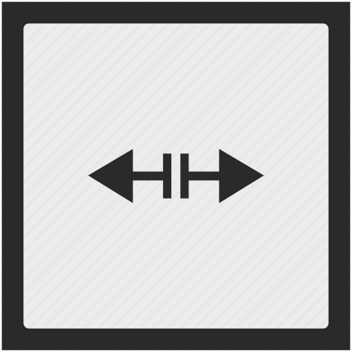 border, cursor, function, horizontal, separate, square icon